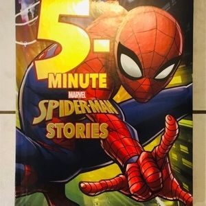 Spider-Man-5 Short Stories in One Book